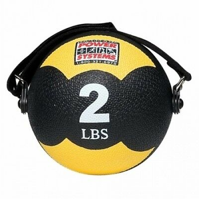 Power Systems 82902 0.9kg Mind and Body Medicine Ball - Yellow. Delivery is Free