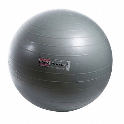 Power Systems 80017 55cm VersaBall Stability Ball - Silver Frost. Best Price