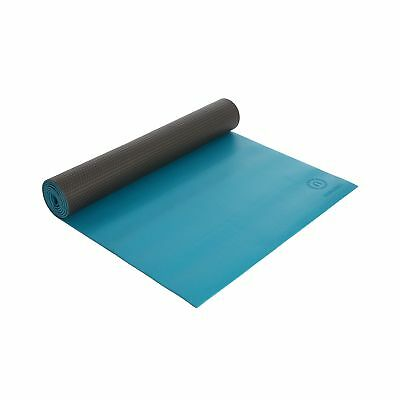 Natural Fitness Warrior Yoga Mat - Teal. Unbranded. Free Delivery
