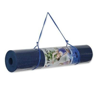 Yoga Mat TPE Eco-friendly Reversible None slip 0.6cm Thick 60cm Wide 180cm