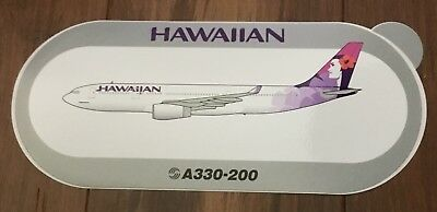 Brand New! Hawaiian Airlines Airbus A330 Pilot Sticker Nice