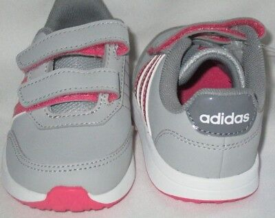 new style eaf9a 610c2 Girls Adidas Vs Switch 2 Cmf Inf Originals Toddlers Grey Pink Shoes ...