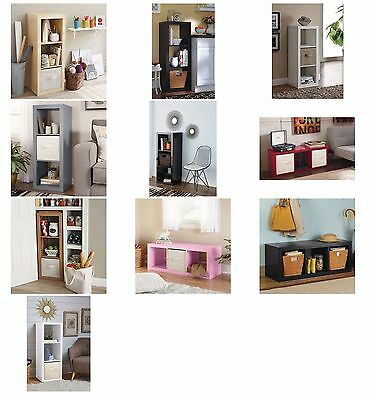 Fabric Cube 3 Cube Organizer Shelves Multiple Colors By Better Homes