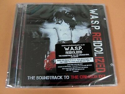 W.A.S.P. - Re-Idolized ~ The Soundtrack To The Crimson Idol [2 CD] (Sealed)