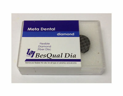 Fibre Fiber Cut Disc Diamond unmounted 22x0.2mm 5pcs - Dental - Besqual