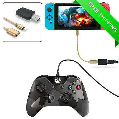 Nintendo Switch Controller Converter | PS3/PS4 Dualshock, XBOX 360, XBOX ONE