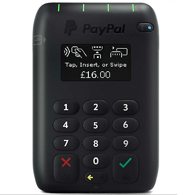 PayPal Chip Card Reader ( M010USDCRT)  Contactless EMV Chip and PIN Card Reader