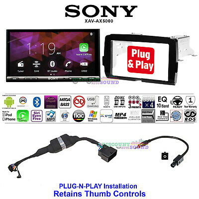 For 2014-2018 Harley Davidson 2 Din Touch Screen Radio Kit With Sony Xav-Ax5000