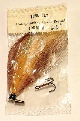 Vintage Hardy TORRISH Tube Fly 2½' Salmon Fly Fishing Rare Original UNOPENED