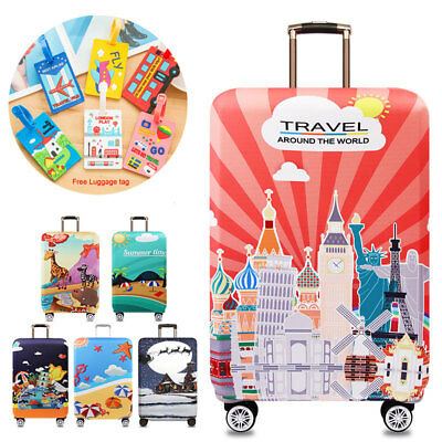 """18"""" ~ 32 """" Thick Luggage Protective Cover Elastic Suitcase Dust Cover Protector"""