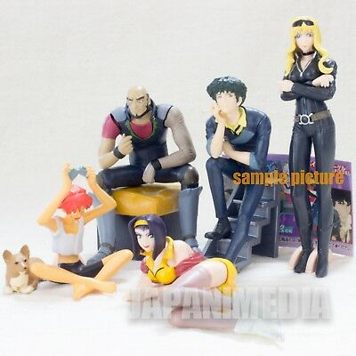 Complete Set Cowboy Bebop HGIF Gashapon Mini Figure Bandai JAPAN ANIME MANGA