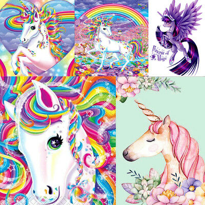 Unicorn DIY 5D Full Drill Diamond Painting Embroidery Cross Stitch Home Decor B