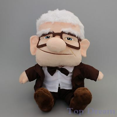 HOT Disney Pixar Up Movie Carl Grandpa Plush Soft Doll Figure Toy 7''