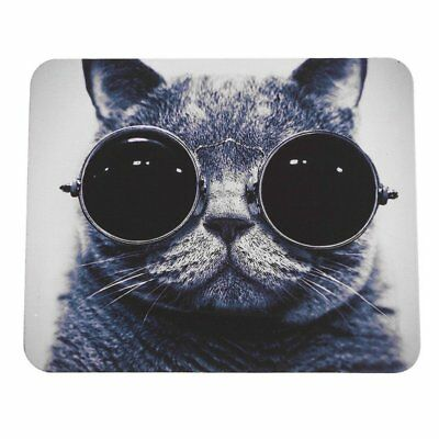 Cat Picture Anti-Slip Laptop PC Mice Pad Mat Mousepad For Optical Laser Mouse K