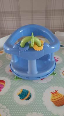 Baby/ Toddler Boys Blue Bath safety seat, In Great condition.