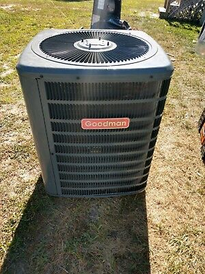 Goodman 2 Ton R22  Heat Pump Central Ac Condenser 13Seer 2014