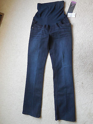 8490a43dc8998 NWT Women's Oh Baby by Motherhood Maternity Secret Fit Belly Bootcut Jeans  SM