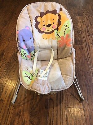 fisher price bouncer seat with calming vibrations