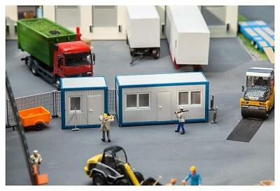 HO Scale Buildings - 130132- Building Site Offices