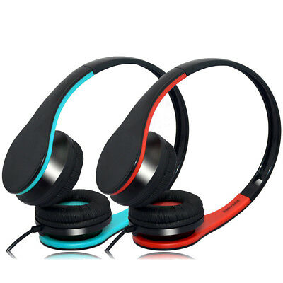 S-860 Portable Bass Surround Stereo Gaming Headsets Headphones With Microphone f