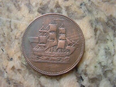 Canada Colonies  Ships and Commerce Token