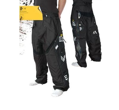 Laysick 411 Pro Pants Paintball Hose, black, XL