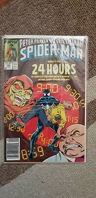 Peter Parker, The Spectacular SPIDER-MAN #130 (Sept 1987) VG-EX CONDITION Comic