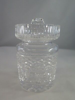 WATERFORD Crystal CASTLEMAINE Preserves Honey Jam Jelly Jar w Lid condiments