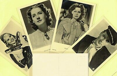ROSS VERLAG - 1930s Film Star Postcards produced in Germany #A1301 to #A1449