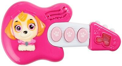 Girls Skye Paw Patrol Mini My First Guitar Musical Instrument Toy With Sounds