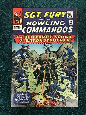 Sgt. Fury and his Howling Commandos - # 14 -Blitzkrieg Squad of Baron Strucker