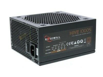 Rosewill Hive Series 1000W Modular Gaming Power 80 PLUS Bronze Certified