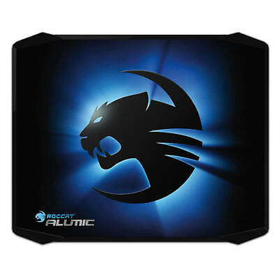 ROCCAT Alumic Double Sided Gaming Mousepad with Gel Wristrest, 331 x 272 x 3 mm,