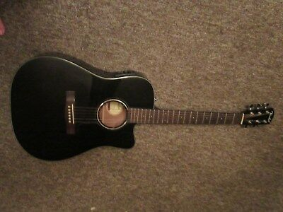 FENDER CD-60CE CUTAWAY Dreadnought Acoustic-Electric Guitar
