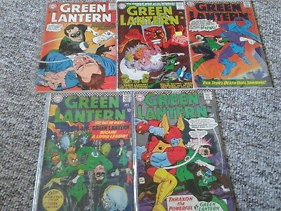 Silver & bronze age Green Lantern collection of 50 comics mid/high grade