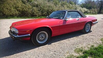 Re Listed due to Time Waster Jaguar XJS Convertible