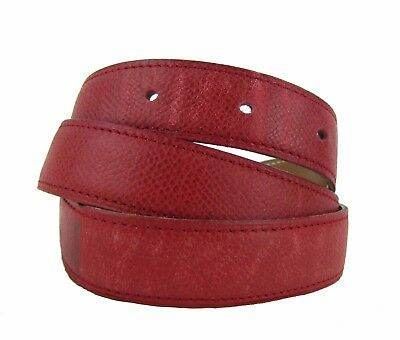 2f3c09e96822 HERMES RED AND Tan Leather Mini Constance 18mm Reversible Belt Strap ...