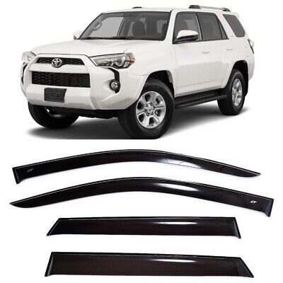 For Toyota 4Runner N280 2009-2018 Side Window Visors Rain Guard Vent Deflectors