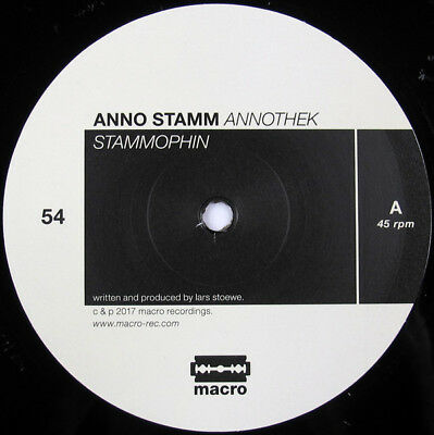 DEEP DUBBY TECHNO - Anno Stamm ‎– Annothek - Macro ‎– DEEPCHORD - GIEGLING VRIL