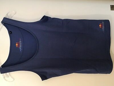 Red Bull Racing Shirt o.Arm Gr. XL blau