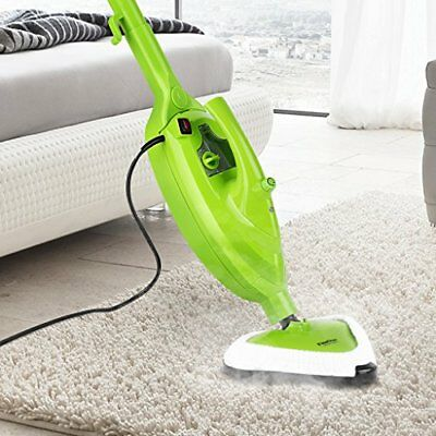 Finether Handheld Steam Cleaner | 10 in 1 Floor Steam Mops 1500W Powerful Non...