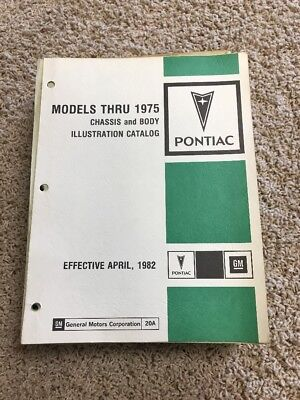 Models Thru 1975 Chassis And Body Illustration Catalog