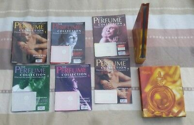 6 X The Perfume Collection Magazine Including Original Holder /deagostini/ Used
