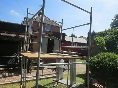 scaffold tower used