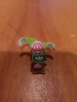 mcdonalds crew lapel pin A Bug's Life, Dr. Pepper, Vintage