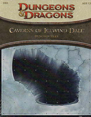 Dungeons & Dragons-D&D-Caverns of Icewind Dale-Dungeon Tiles-RPG-Tabletop-new