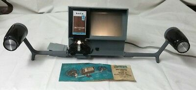 Vintage Baia Instaview 120 Dual 8 Electric Editor Viewer Film Player
