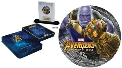 2018 Silver THANOS Avengers Infinity Wars Coin