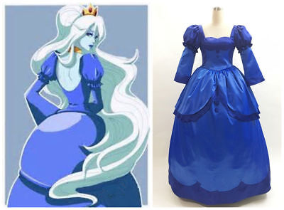 Adventure Time Ice Queen Cosplay Cosplay costume dress custom made