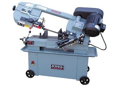 "King Canada Tools KC-712BC 7""X12"" METAL CUTTING BANDSAW Scie à Ruban pour Métal"